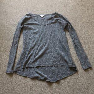 Gray Sun and Shadow Sweater